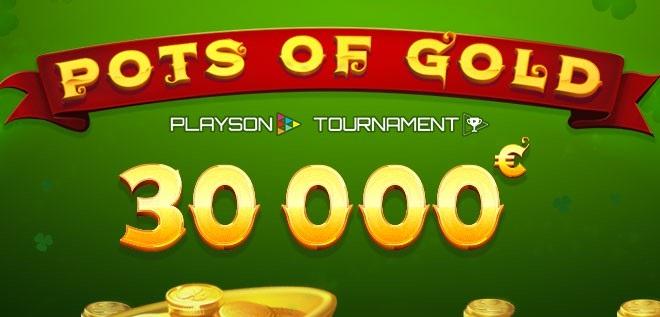 Не пропускай «Pots of Gold» на €30,000 в казино Columbus