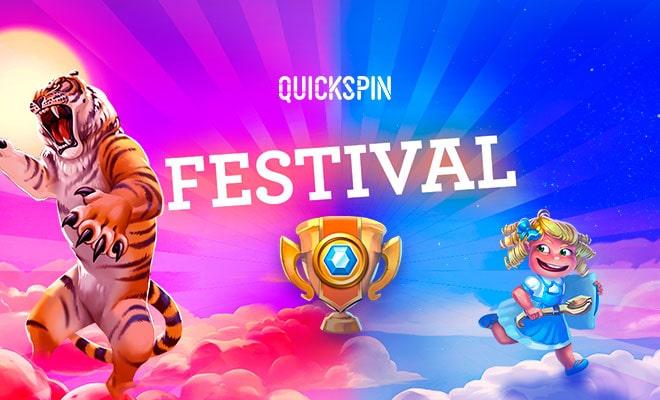 Фестиваль Quickspin на €50,000 в казино Columbus!